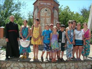 Дети посетили Успенский храм г. Бугуруслана