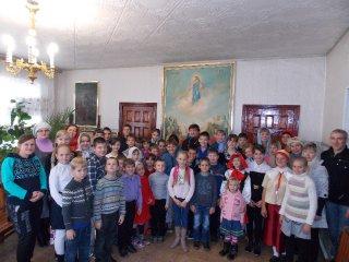 Открытие воскресной школы в 2014г