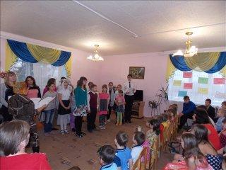 Дети воскресной школы подарили праздник детям из