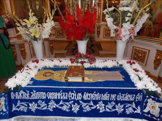 Посещение в престольный праздник Успения Пресвятой Богородицы г. Бугуруслана