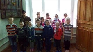 Воскресное мероприятие в Воскресной школы Успенской Церкви г. Бугуруслана
