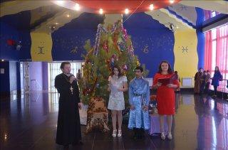 Воскресная школа в Юбилейном 8 января