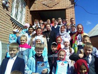 Выпуск учеников воскресной школы