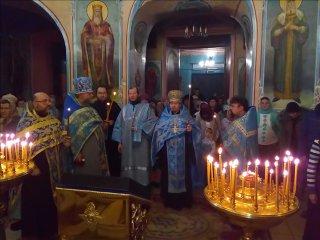 Введе́ние во храм Пресвято́й Богоро́дицы 2017год