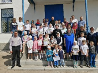 Окончания учебного 2019г. в Воскресной школе