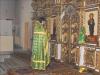 Служба преосвященного епископа Алексия в храме св. Дмитрия Ростовского с. Северное